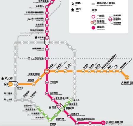 【高雄MRT】高雄の地下鉄で一卡通(iPASS)を使って行く美麗島駅
