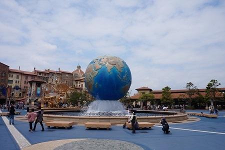 台湾から日本へ一時帰国【東京ディズニーシー・海洋迪士尼】
