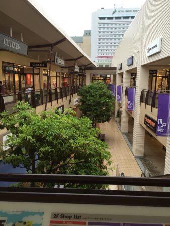 【日本一時帰国】三井アウトレットパーク幕張は雨でも買い物が楽しめる