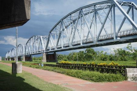 【台湾・屏東観光】大樹舊鐵橋 天空步道(下淡水渓鉄橋)
