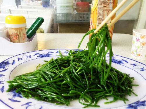 [台湾中国語]台湾料理を注文するときに覚えておきたい野菜の中国語