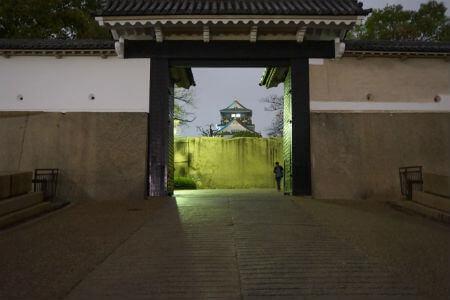 大阪城桜門