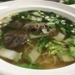 高雄の観光地・蓮池潭にある牛肉麺の人気店三牛牛肉麵に行って来た!