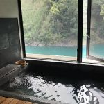 台湾のリゾートホテル・馥蘭朵烏來渡假酒店(烏来温泉)の個室温泉