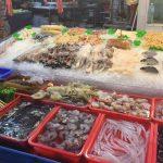 高雄 旗津のメインストリートにある海鮮料理のお店・旗后活海産