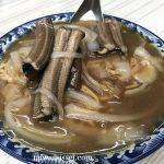 台南鱔魚意麺の美味しいお店「進福炒鱔魚專家」